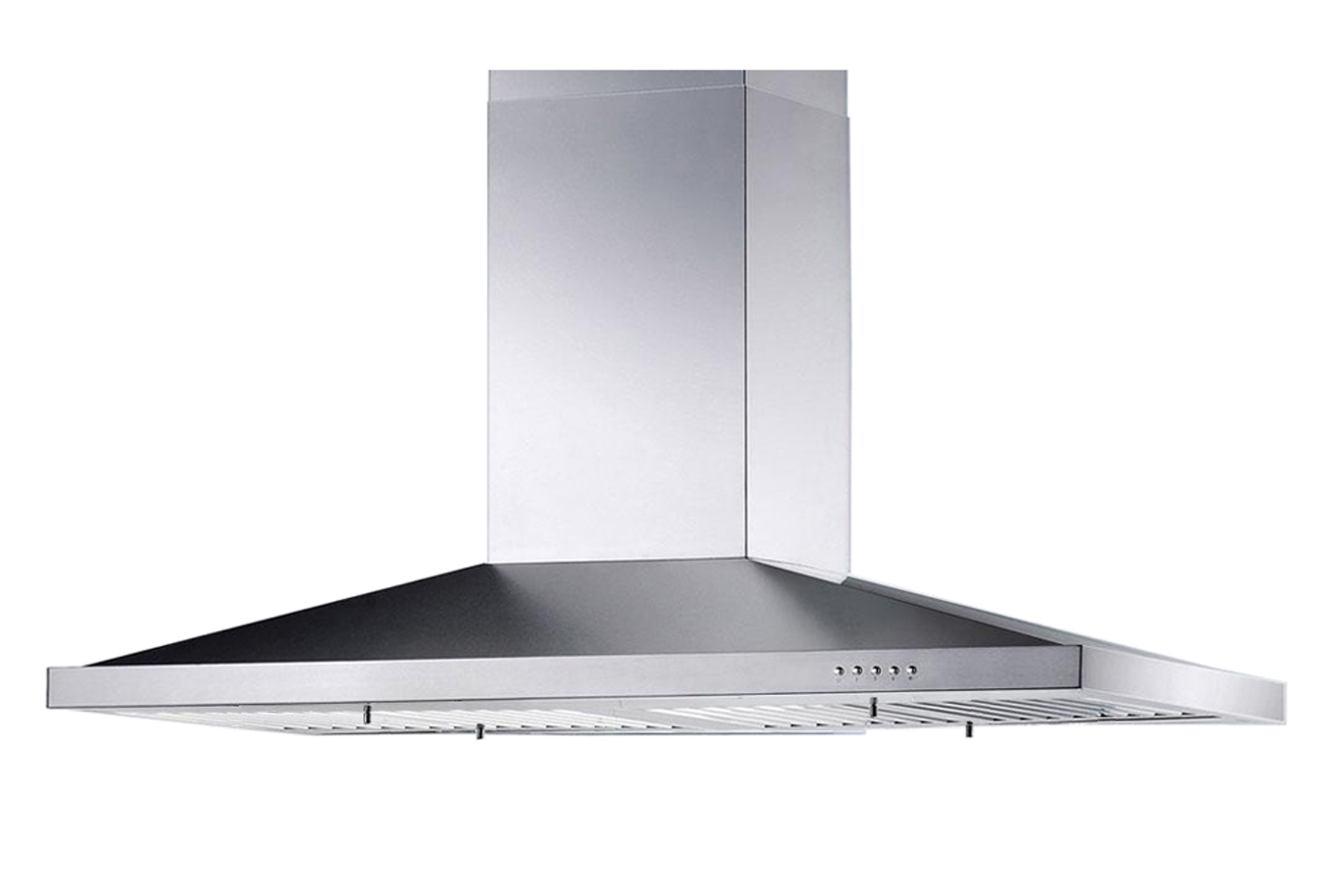 36 Chimney Hood ~ New stainless steel quot kitchen island range hoods vent