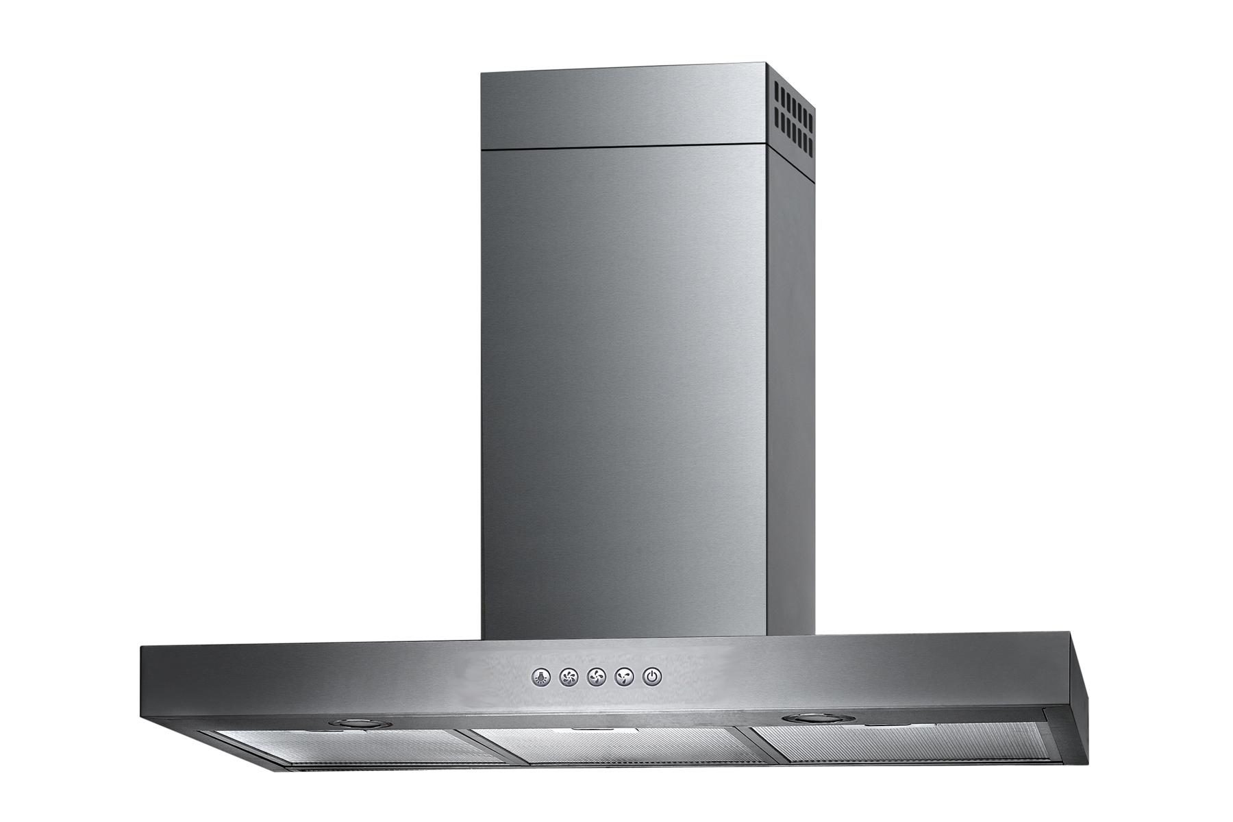 Metal Range Hoods ~ Stainless steel quot range hood wall mount speeds kitchen
