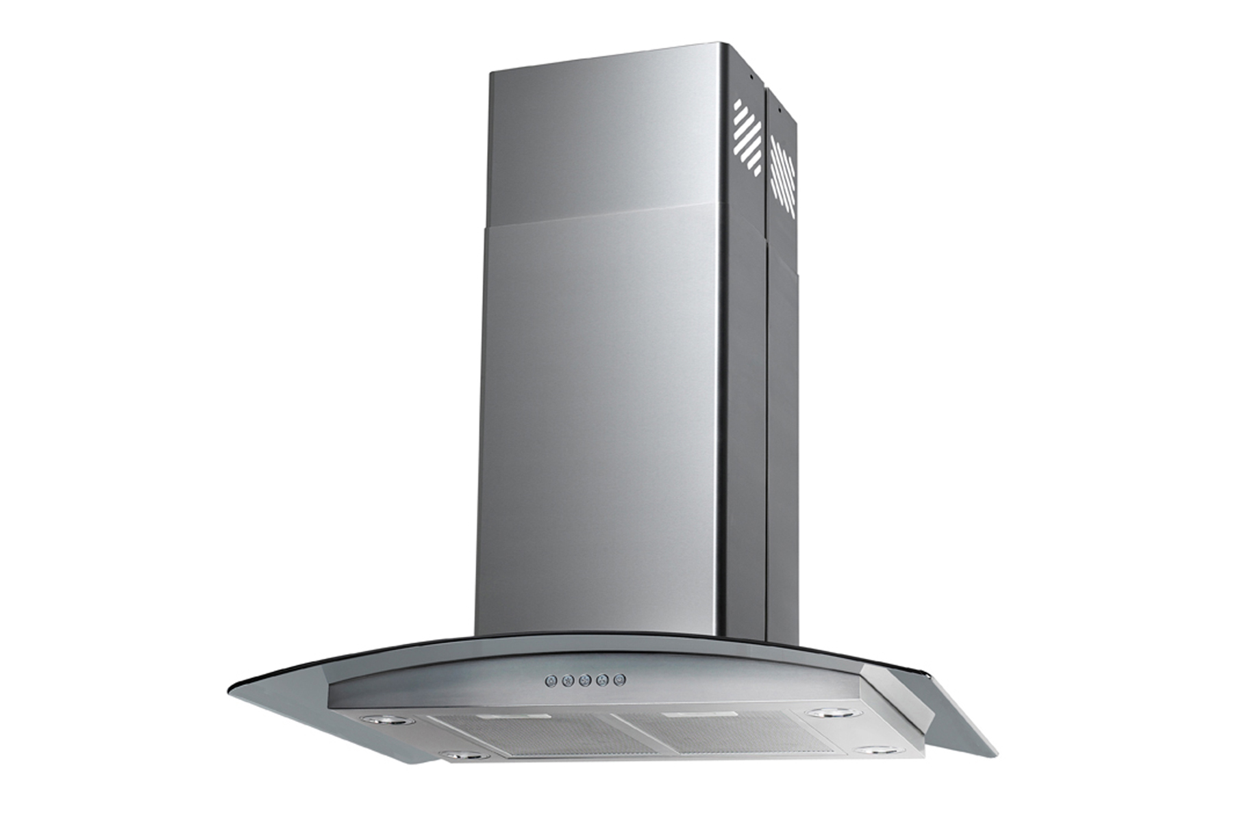 Kitchen Hoods Stainless Steel ~ Stainless steel quot island range hood speeds kitchen fan