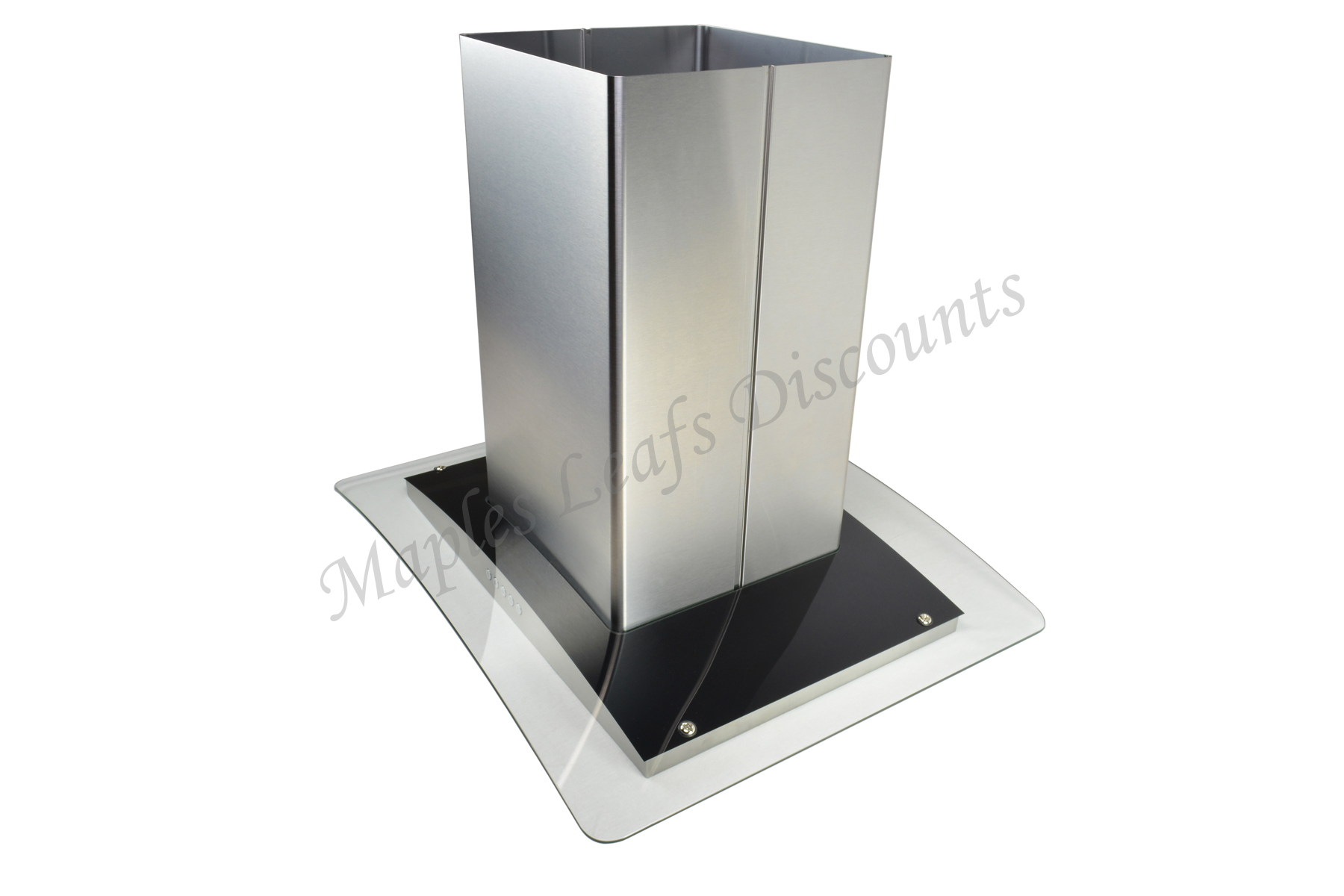 "Stainless Steel 30"" Island Range Hood 3 Speeds Kitchen Fan"