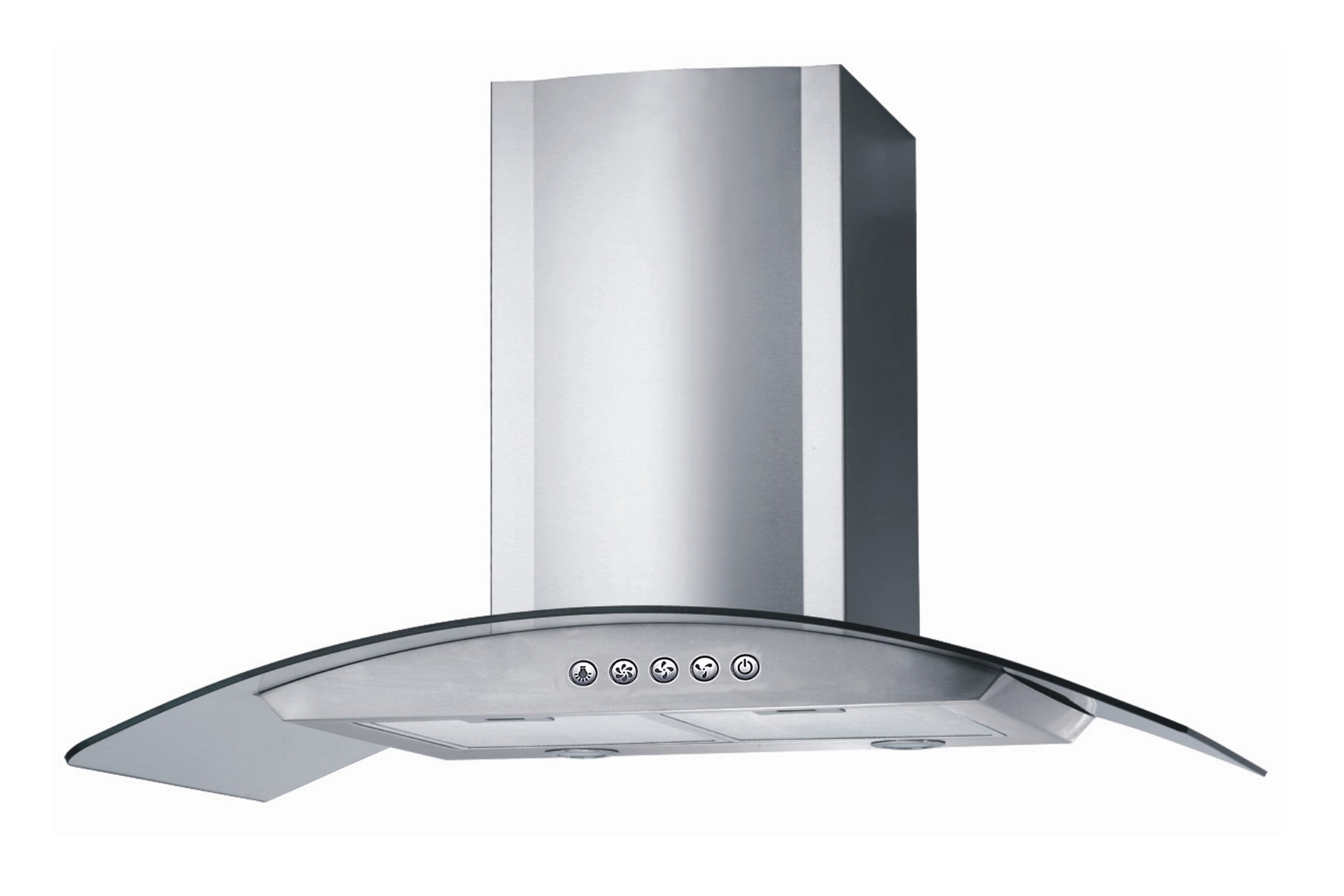 Stove Ventilation Systems : Stainless steel quot range hood wall mount speeds kitchen